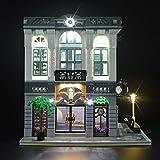 LIGHTAILING Licht-Set Für (Creator Steine-Bank) Modell - LED Licht-Set Kompatibel Mit Lego 10251(Modell Nicht Enthalten)