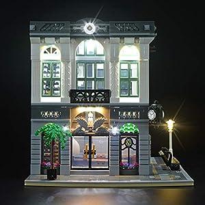 LIGHTAILING Set di Luci per (Creator Expert la Banca) Modello da Costruire - Kit Luce LED Compatibile con Lego 10251(Non… 0753318440128 LEGO
