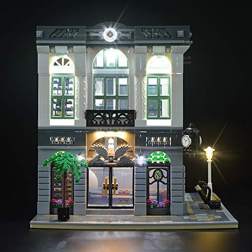 LIGHTAILING Conjunto de Luces (Creator Banco) Modelo de Construcción de Bloques - Kit de luz LED Compatible con Lego 10251(NO Incluido en el Modelo)