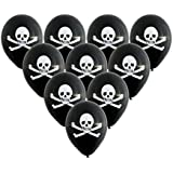 Pack of 10 Pirate Party Balloons