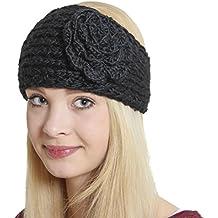 Pour la nouvelle hype fashionistas :  bRUBAKER en tricot avec bandeau serre-tête style vintage motif fleurs extra large
