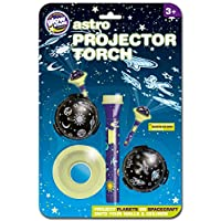 Brainstorm The Original Glowstars Company Astro Projector Glow in the Dark Torch
