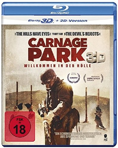 Carnage Park (Uncut) [3D Blu-ray + 2D Version]