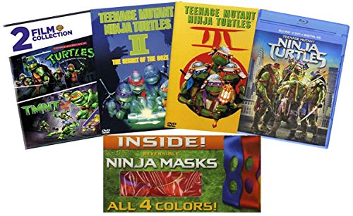 Ultimate Teenage Mutant Ninja Turtles DVD Collection: Teenage Mutant Ninja Turtles (1990) / Teenage Mutant Ninja Turtles II / Teenage Mutant Ninja Turtles III / TMNT / Teenage Mutant Ninja Turtles (2