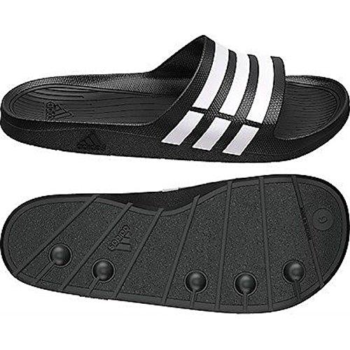 Adidas, Ciabatte da spiaggia uomo Nero (nero)