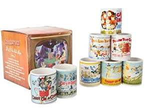 Carry On Can Shaped Mugs in TV Box Volume 2, Set of 8
