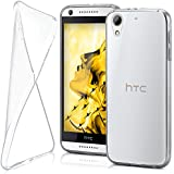 Funda protectora OneFlow para funda HTC Desire 626 / 626G Carcasa silicona TPU 0,7 mm   Accesorios cubierta protección móvil   Funda móvil paragolpes bolso traslúcida transparente en Trasparente