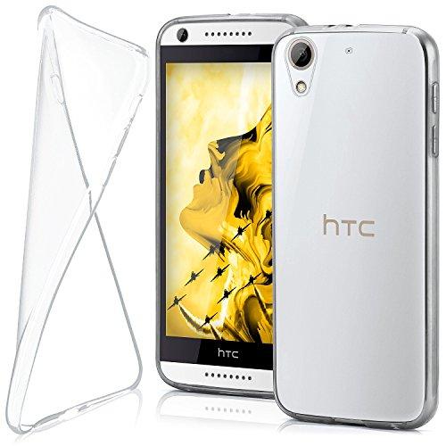 moex HTC Desire 626G | Hülle Silikon Transparent Klar Clear Back-Cover TPU Schutzhülle Dünn Handyhülle für HTC Desire 626G/626 Case Ultra-Slim Silikonhülle Rückseite