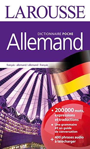 Dictionnaire Larousse poche Allemand par Collectif