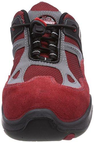 MTS Sicherheitsschuhe  M-Gecko Flash S1P Flex 12111, Chaussures de sécurité mixte adulte Rouge - Rouge