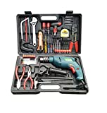 #8: CAMEL BRAND 13mm 850W Impact Drill Machine With Reversible Function + 100+ Drilling Accessories
