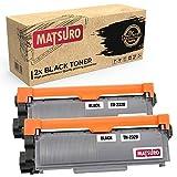 Matsuro Original | Kompatibel Tonerkartusche Ersatz für Brother TN-2320 (2 SCHWARZ)