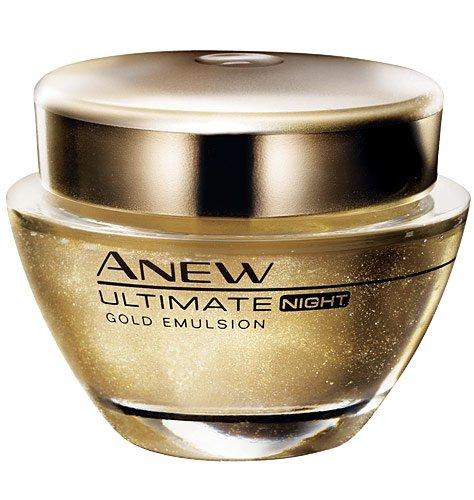 Avon Anew 7S Gold Emulsion 7s / Nachtcreme 50ml