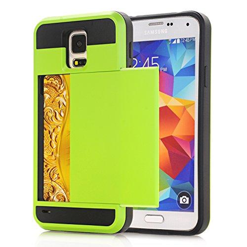 Galaxy Note3 Hülle,EVERGREENBUYING [Slider Series] Abnehmbare Hybrid Schein N9006 Tasche Ultra-dünne Schutzhülle TPU Fall Geschützt Cover für Samsung GALAXY Note 3 / NoteIII Rose Gold Grün