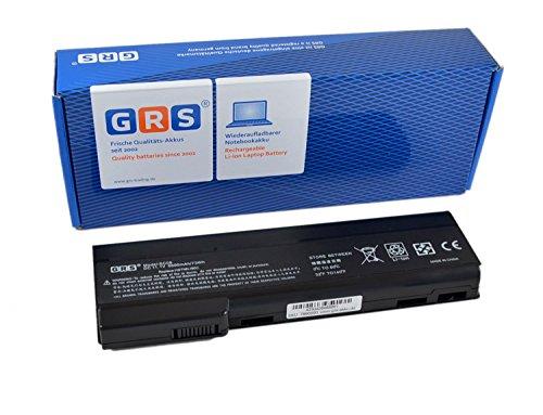 GRS Notebook Akku mit 6600mAh für HP EliteBook 8560p, 8460p, ProBook 6560b, 6460b, 6360b, ersetzt: ST09, 628369-421, BB09, CC06, CC09, CC06XL, QK640AA, QK643AA, QK642AA, HSTNN-OB2H, Laptop Batterie 6600mAh, 10.8V