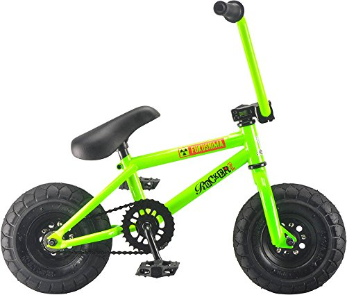 Rocker IROK Mini BMX Bike, Farbe:GREEN (glow in the dark) (Glow Fahrräder Dark The Für In)