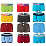EEYAGEN Jinshi Bamboo Breathable Softest Boxer Briefs Underwear for Men Pack