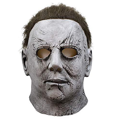 Michael Myers Kostüm Party - VAWAA Film Horror Michael Myers Halloween Maske Cosplay Beängstigend Latex Masken Helm Party Kostüme