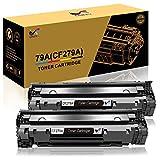 ONLYU Cartuccia di Toner Compatibile Ricambio per HP 79A CF279A per HP LaserJet Pro MFP M26 M26nw M26a HP LaserJet Pro M12 M12w M12a Stampante (2 Nero)