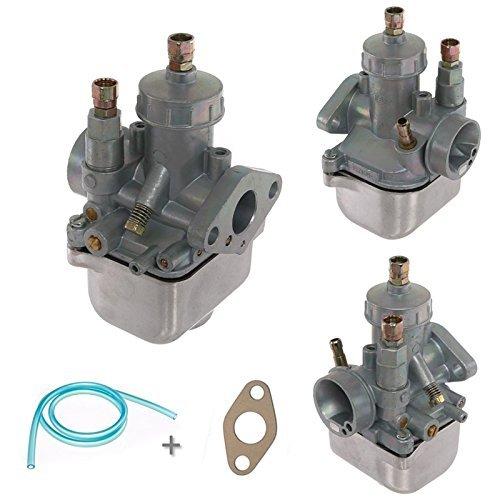 Vergaser 16N1-11 - BVF Qualität + Benzinschlauch und Flanschdichtung für Simson S51
