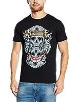 Bullet For My Valentine Herren T-Shirt Winged Skull
