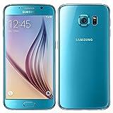 Samsung Galaxy S6 Smartphone (5.1 Zoll Touch-Display, 32 GB Speicher, Android 5.0) blau (Zertifiziert und Generalüberholt)