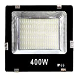 Gesto 400 Watt Ultra Thin Slim Ip66 LED Flood Outdoor Light Cool White