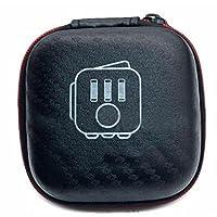 Specifiche:> Materiale: EVA Storage bag, stabile e affidabile;> colore: Nero. Dimensioni: 7.5*4cmFeatures:> La superficie di protezione contro urti e coperte, polvere, impronte digitali e della Scratch asperità.> anti Rutsch, fate in men...