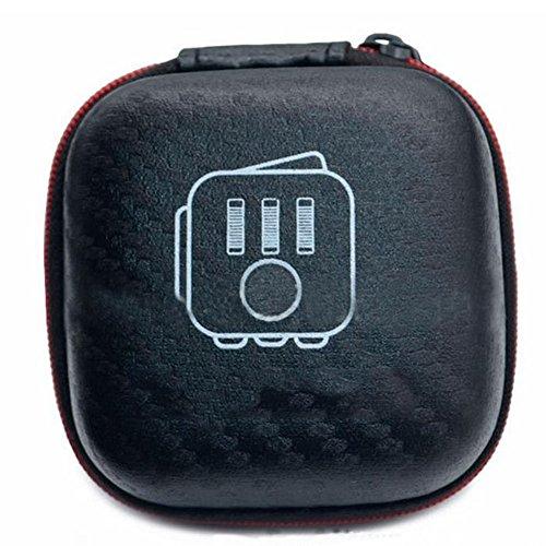 fablcrew Cube Würfel Aufbewahrungstasche Box Tragetasche Paket für Kopfhörer Drug Datenkabel schwarz (Cube Carry Case)