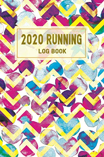 2020 Running  Log Book: 365 Day Runner's Day by Day Log Book Diary Journal - 2020 Daily Weekly & Monthly Running Calendar Planner - Run Workouts Record Notebook For Men & Women