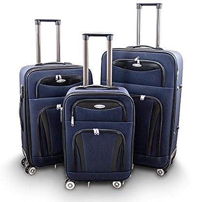 Kofferset-3-teilig-Reisekoffer-Trolley-Stoffkoffer-Softcase-Teleskopgriff-Modell-Traveler-Line