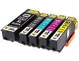 TONER EXPERTE® 5er Set Druckerpatronen kompatibel für Epson 33XL Expression Premium XP-530 XP-540 XP-630 XP-635 XP-640 XP-645 XP-830 XP-900 | hohe Kapazität