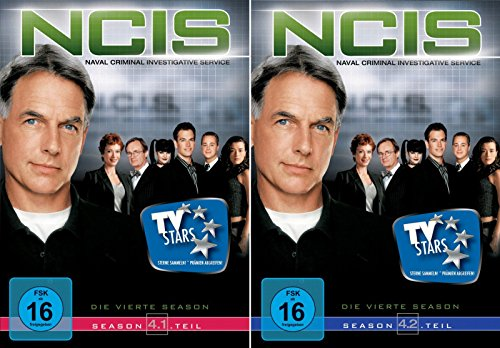 Navy CIS Staffel 04 (4.1 + 4.2) im Set - Deutsche Originalware [6 DVDs] - La Staffel Ncis 4