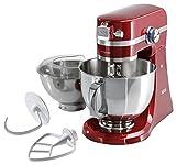 AEG 4000 KM 4000/4400 Küchenmaschine, Vollmetall, 4.8 liters, Rot