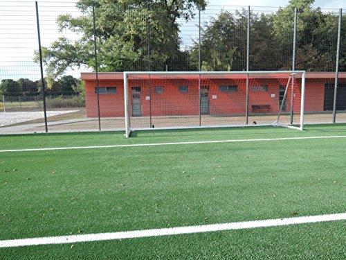 GLA-WEL Transportables Jugendfußballtor - Kippsicher - Vollverschweißt - 5,00 x 2,00 m, untere Tortiefe/Auslage:1.00m