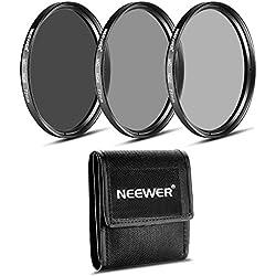 Neewer 77mm ND Ensemble de filtres (ND2ND4ND8) pour Le Canon EF 24–105mm f/4l is USM Objectif à Zoom, Le Nikon 28–300mm f/3.5–5.6G Ed VR II AF-S Objectif Zoom
