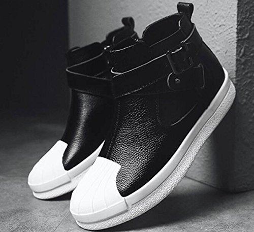 Autunno High-top Scarpe Uomo Versione Coreana Sport Scarpe Casual Moda Scarpe White