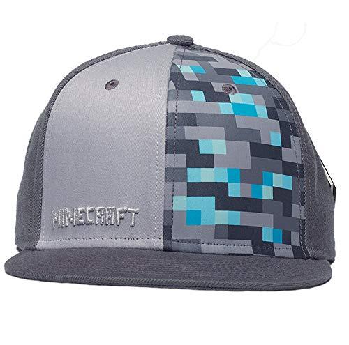 Cooles Minecraft Cap, Kappe, Baseball-Cap, Basecap, Verstellbar (Snapback), Hochwertige Verarbeitung
