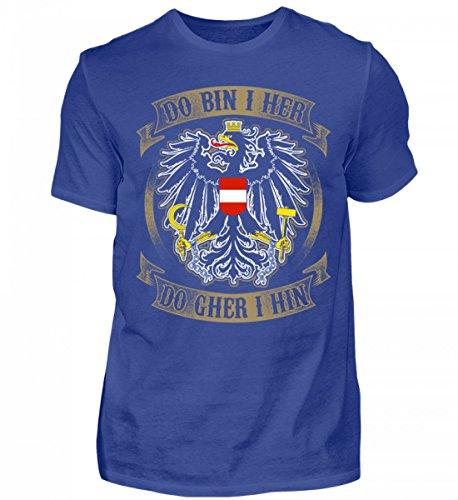 Österreich-Do Bin i her - Herren Shirt