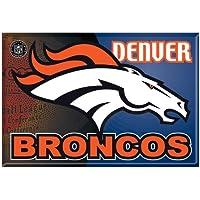 "Offizielle NFL ""Denver Broncos"" Button, Anstecker, Pins als 6er Set"