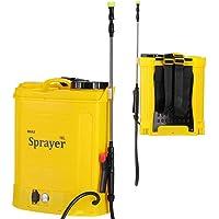 Pompa Nebulizzatore da Spalla Irroratrice Alimentazione a Batteria 12Ah Ricaricabile Capacità 16Lt Pressione 2-3 BAR…