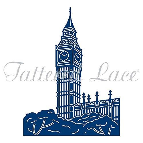 Tattered Lace Metall schneiden sterben London Big Ben D1376 (Big Ben Schneiden)