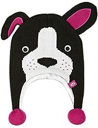 Animal Beanies - Animal Melonie Beanie - Black