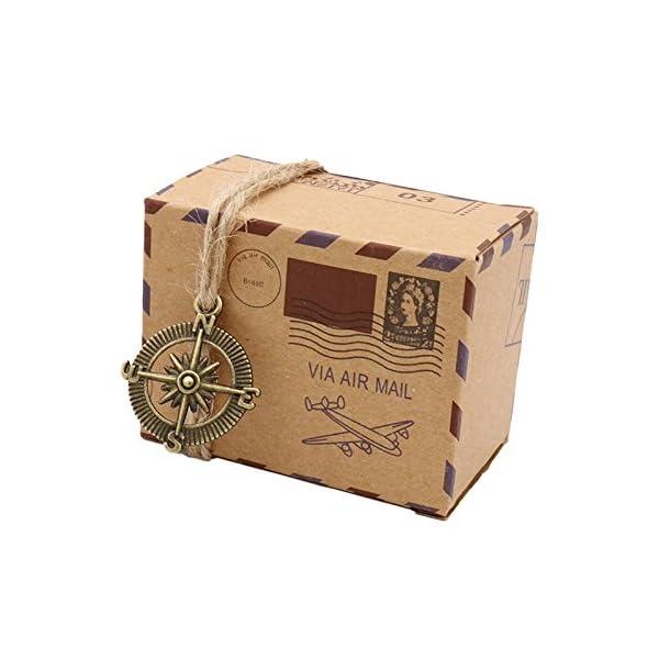 Caja aventurera para envolver los regalos de DeMAPAS