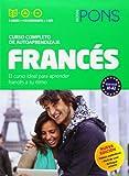 Curso Pons Francés. 2 libros + 4 CD + DVD (Pons- Curso Autoaprendizaje)