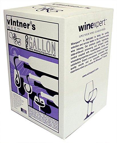 Vintner's Best One Gallon Wine Making Equipment Kit by Strange Brew -