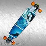 Sportbanditen Drop Shape Low Longboard, Surf, 107 cm