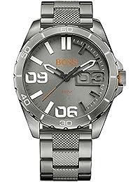 BOSS Orange Herren-Armbanduhr BERLIN Analog Quarz Edelstahl beschichtet 1513289