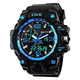 Best Watches For Men Under 500s - CIVO Mens Boys Analogue Digital Sport Watch 50M Review