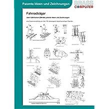 Fahrradträger, über 1200 Seiten (DIN A4) patente Ideen und Zeichnungen